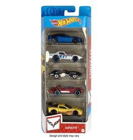 Mattel Hot Wheels: 5 Pack Assorted