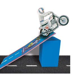 Evel Knievel Stow & Go Stunt Cycle Ramp