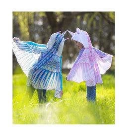 HearthSong Hooded Unicorn Wings- Pink