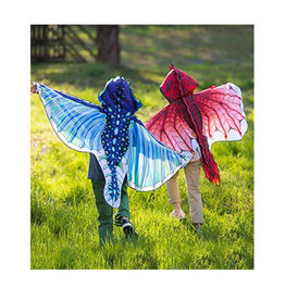 Hooded Dragon Wings- Blue