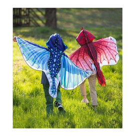 Hooded Dragon Wings- Red