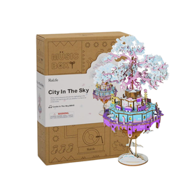 ROBOTIME City In The Sky - Music Box