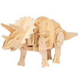 ROBOTIME Mini Triceratops