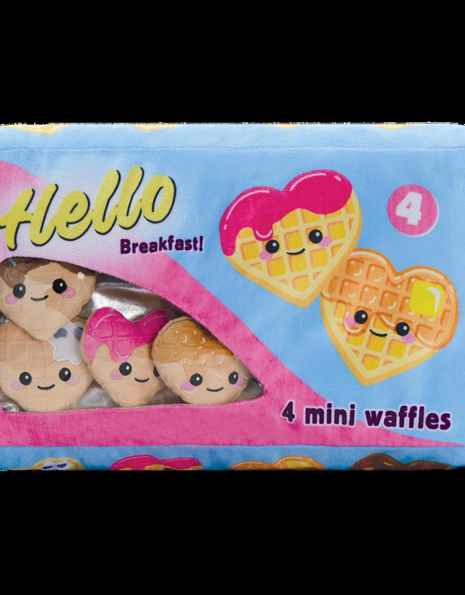 Box Of Waffles Fleece Pillow