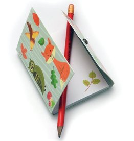 House of Marbles Woodland Mini Mag Notepads