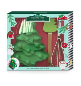 Winter Wonderland Holiday Tree Cupcake Mold