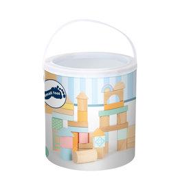 Pastel Building Blocks 50 Piece Playset