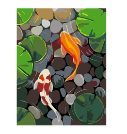 Artwille Artwille™ Paint By Number Koi Pond