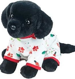 Douglas Toys Pj Pup Black Lab- Medium