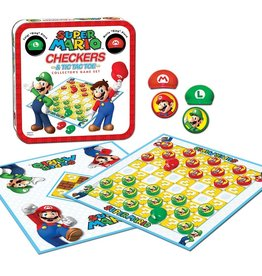 USAopoly Super Mario™ Checkers & Tic Tac Toe Collector's Game Set