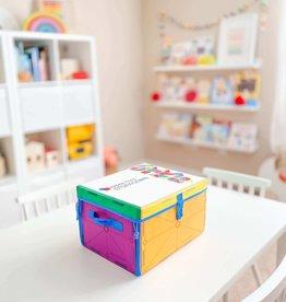 Magna-Tiles Magna-Tiles® Storage Bin & Playmat