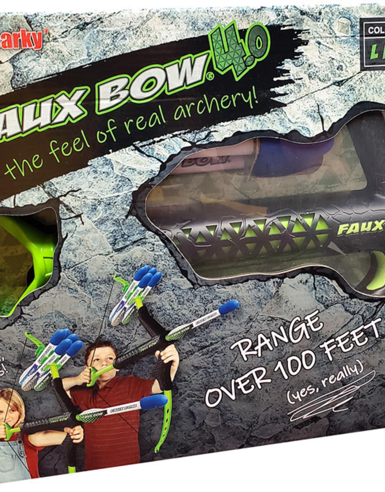 Faux Bow® Lizardite Black/Lime