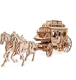 UGears Stagecoach Model Kit