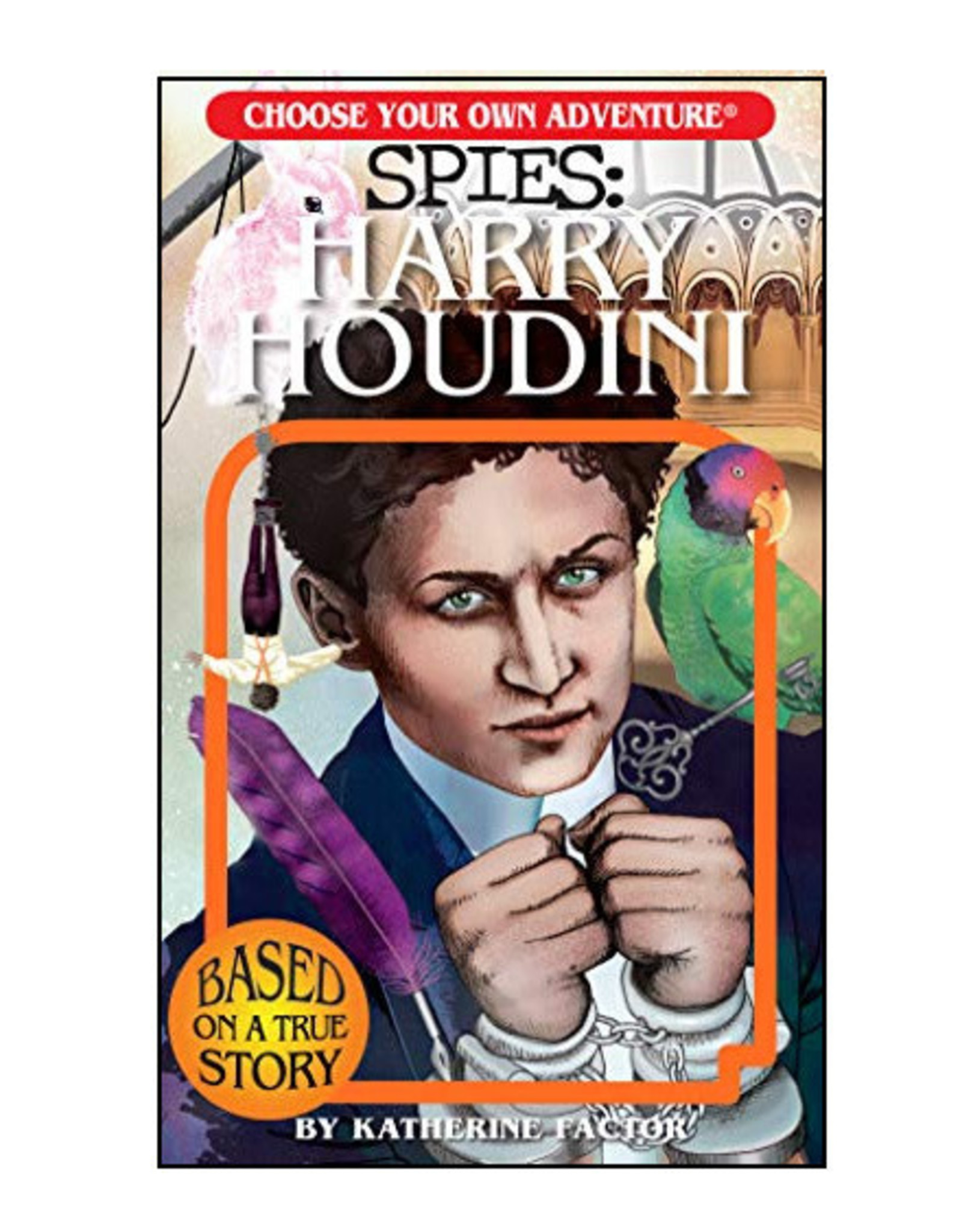 Choose Your Own Adventure Spies: Harry Houdini