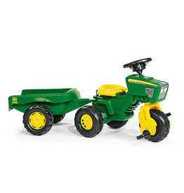 Rody John Deere Kid Tractor w/Trailer