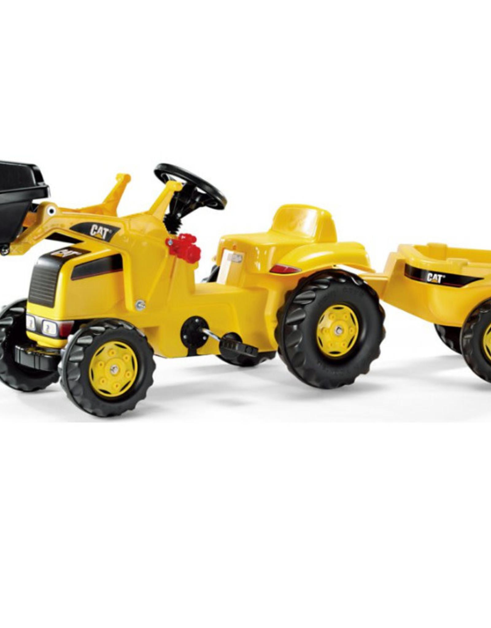 Rody CAT Kid Tractor w/Trailer