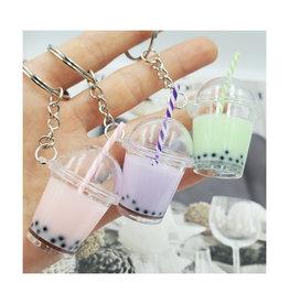 BC Mini Fruit Pearl Milk Tea Key Chain