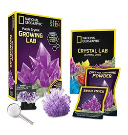 National Geographic National Geographic Impulse Crystal Grow Purple