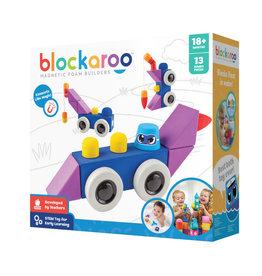 Blockaroo Blockaroo Magnetic Foam Blocks - Medium - Roadster