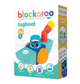 Blockaroo Blockaroo Magnetic Foam Blocks - Small - Tug Boat