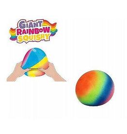 Giant Rainbow Squish Ball