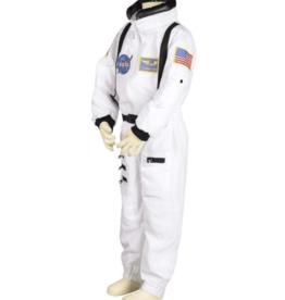 Aeromax Jr. Astronaut Suit w/Embroidered Cap, size 4/6 (White)
