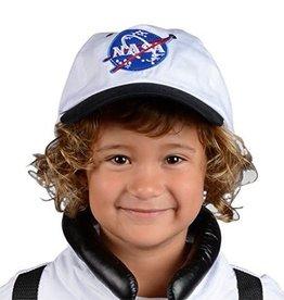 Aeromax Jr. Astronaut Suit w/Embroidered Cap, size 6/8 (White)