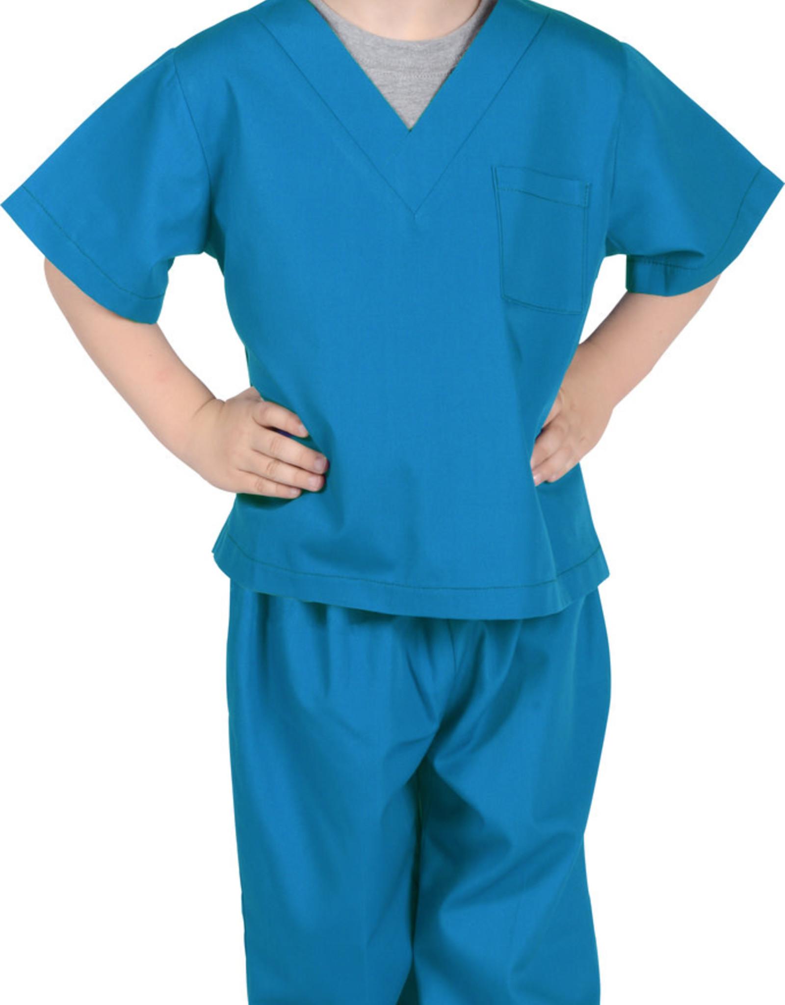 Aeromax Jr. Doctor Scrubs, Astor Blue, size 6/8