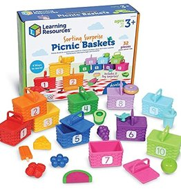 Learning Resources Sorting Picnic Baskets Activity Set