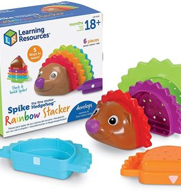 Learning Resources Spike the Fine Motor Hedgehog Rainbow Stackers