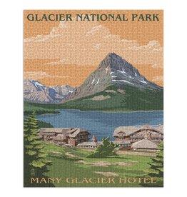 Lantern Press Glacier National Park, Montana 1000 pc