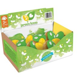 Green Tones Egg shakers & Frog castanets