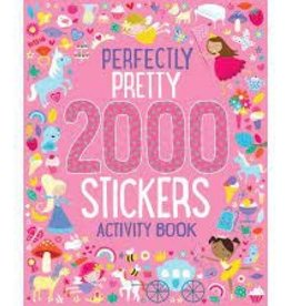 2000 Stickers Perfectly Pretty Activity Book
