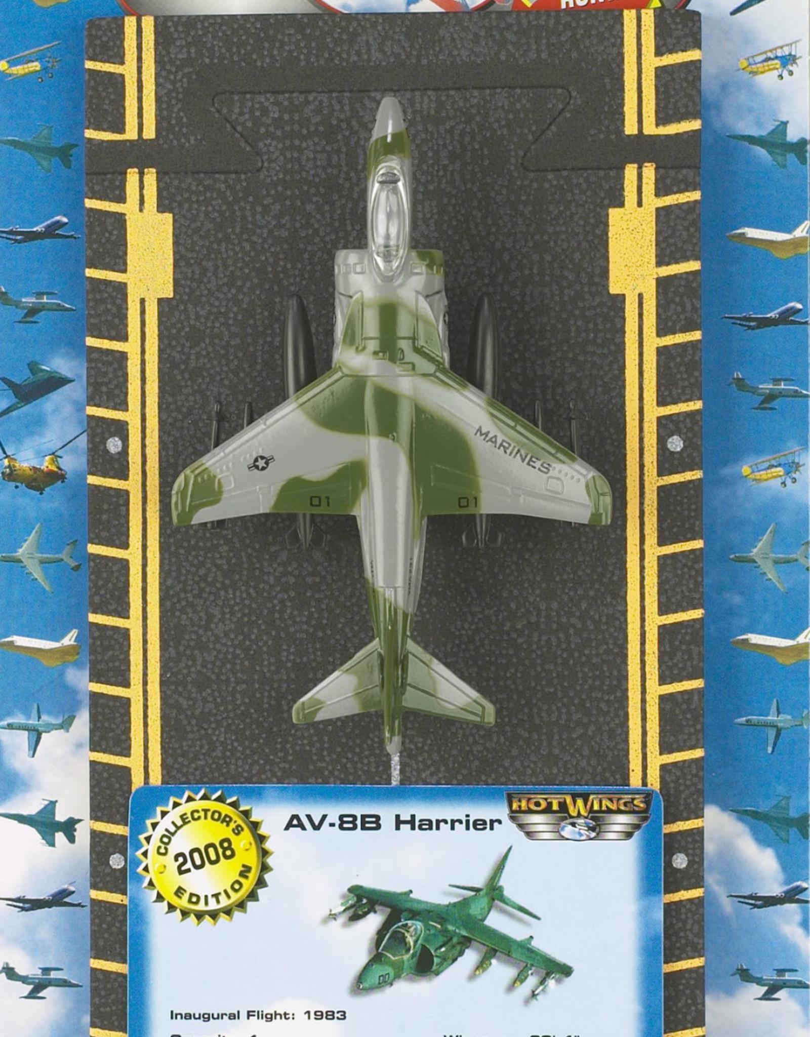 Hot Wings AV-8B Harrier (Green)