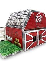 Magna-Tiles Farmyard Barn Structure