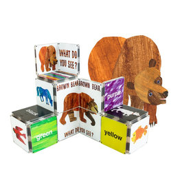 Magna-Tiles Brown Bear, Brown bear, What Do You See? Structure