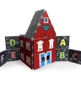 Magna-Tiles ABC Schoolhouse Structure