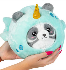 """Squishable Undercover Panda in Narwhal (7"""")"""