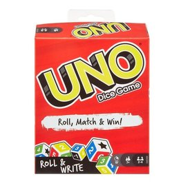 Uno: Roll & Write Dice Game
