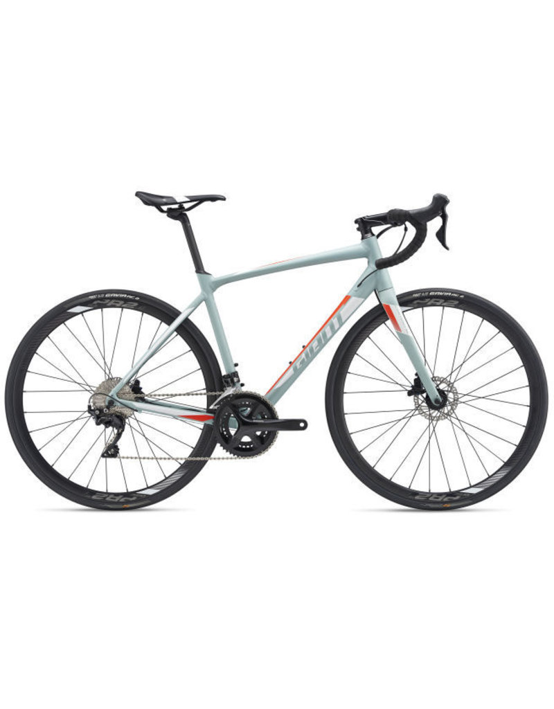 Giant Giant Contend SL 1 Disc L Gray Green/White/Neon Red