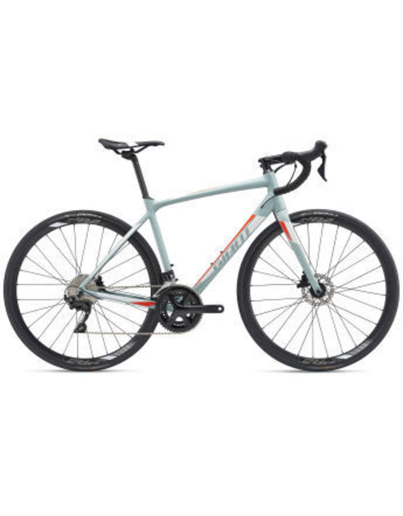 Giant Giant Contend SL 1 Disc ML Gray Green/White/Neon Red 2019