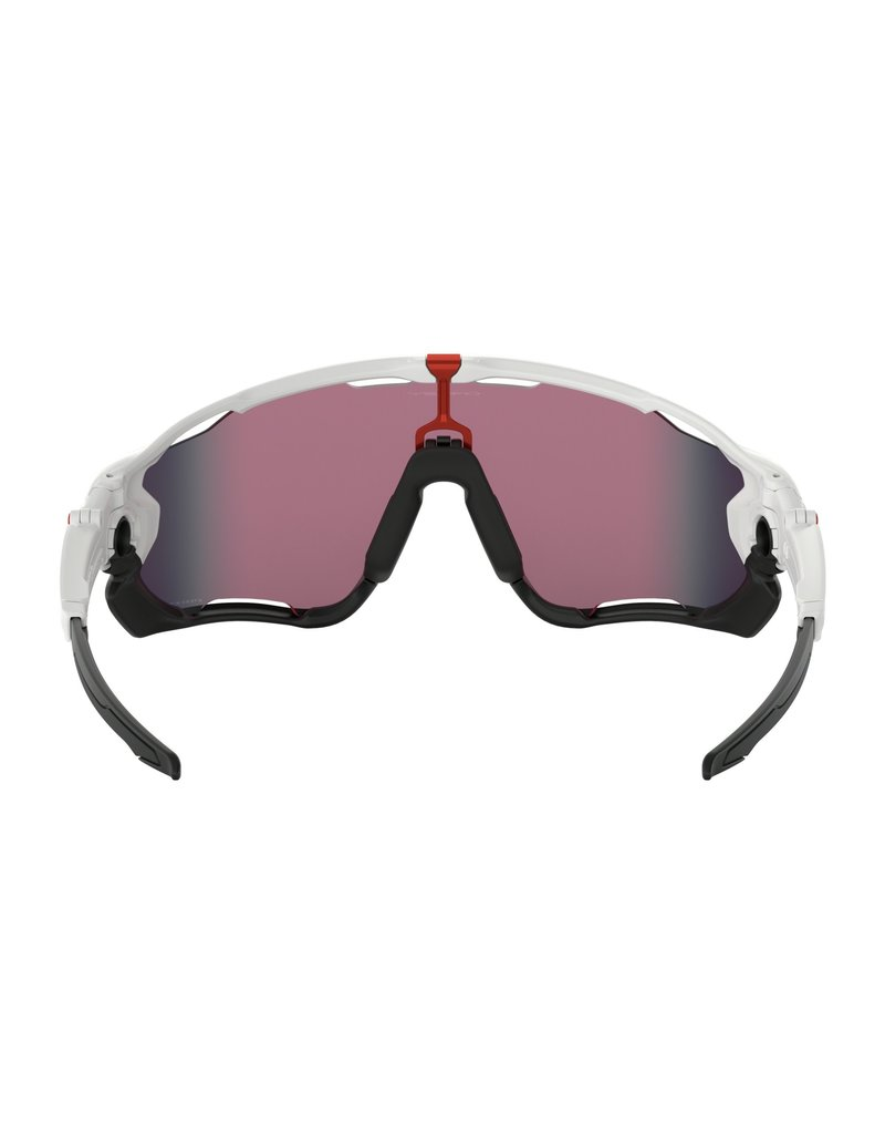 Oakley Jawbreaker Polished White w/ Prizm Road