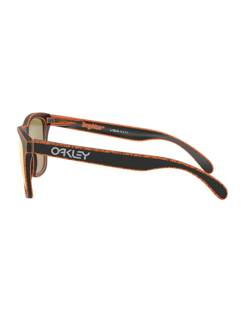 Oakley Frogskins Raceworn Orange w/ PRIZM Ruby