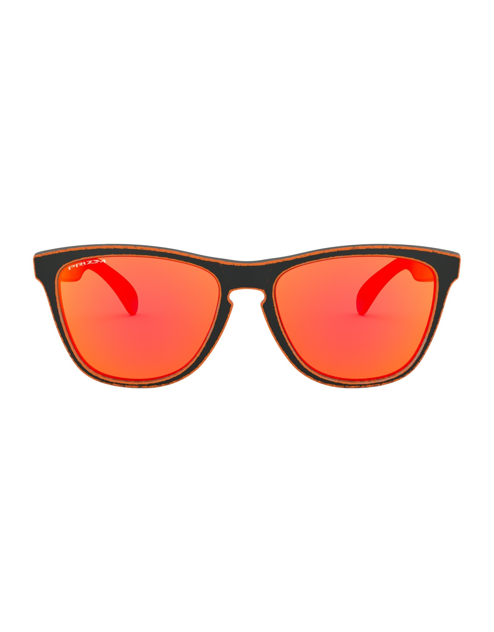 Frogskins Raceworn Orange w/ PRIZM Ruby