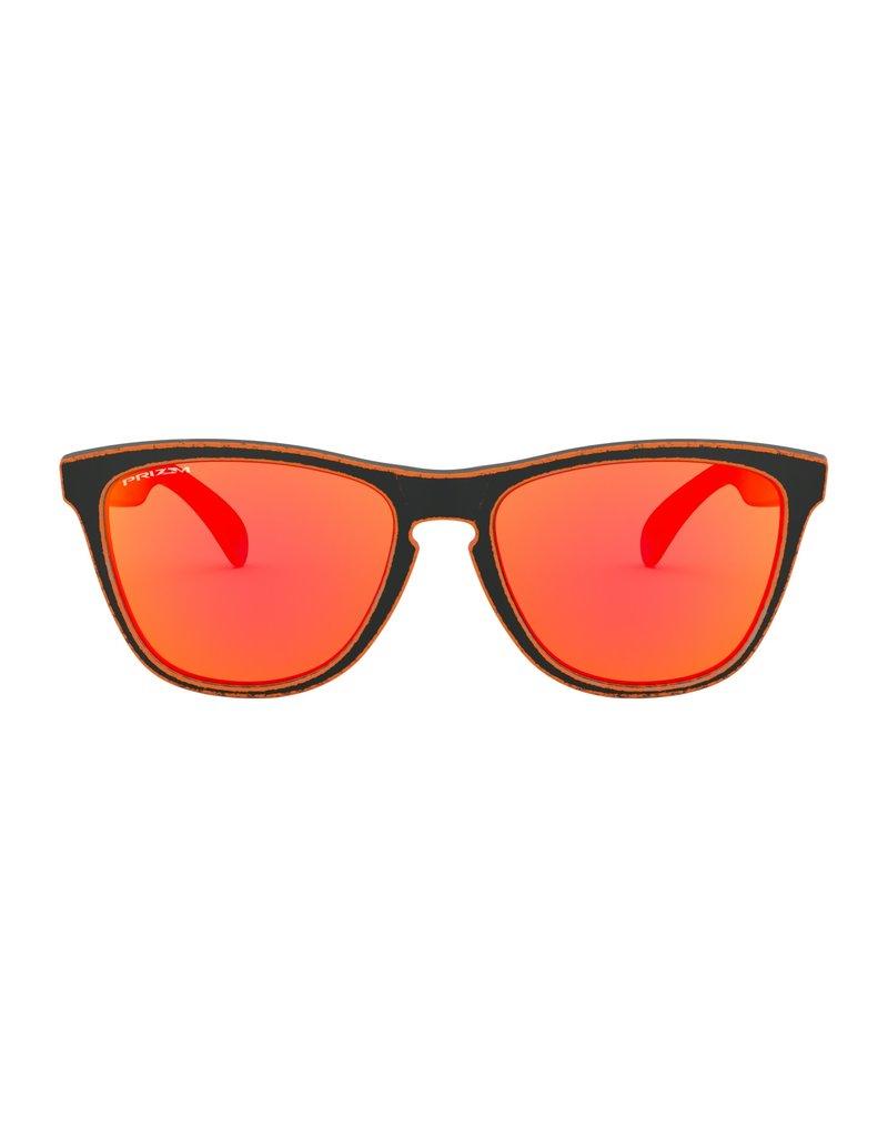 Frogskins Raceworn Orange w/ PRIZM Ruby