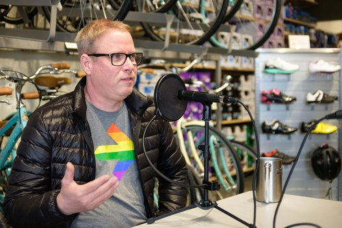 Johnny Velo Bikes interview is now live on the Joy Venture Podcast !