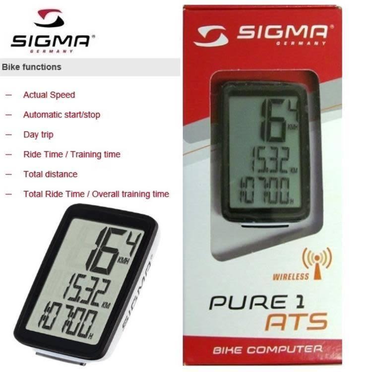Sigma Bicycle Computer Pure 1/ATS