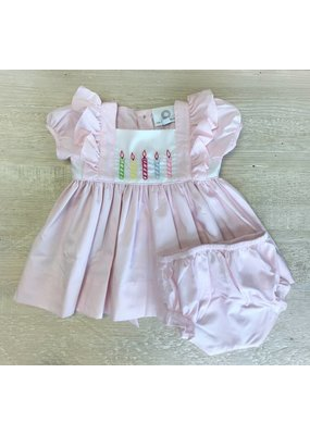 Proper Peony Proper Peony Birthday Dress w/ Bloomers Set