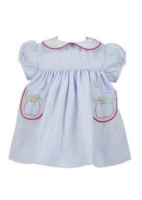 Proper Peony Proper Peony Apple Dress w/ Bloomers Set