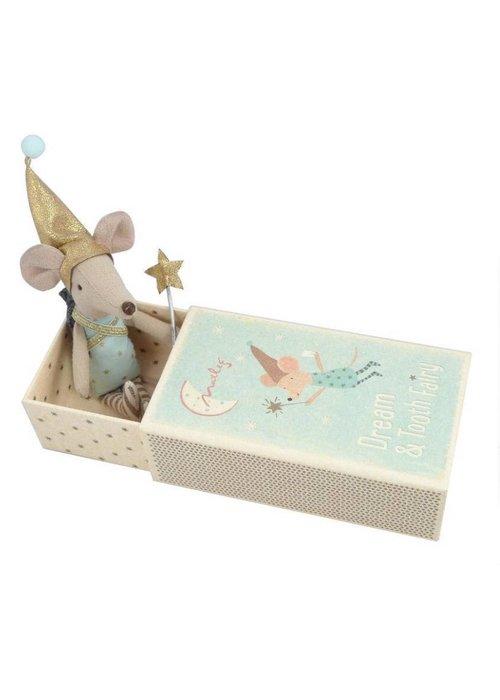 Maileg Maileg Dream/Tooth Fairy Mouse Blue